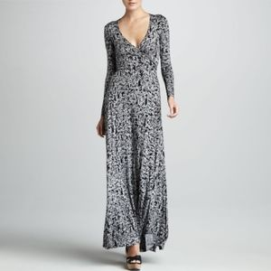 Rachel Pally Print Maxi Wrap Dress